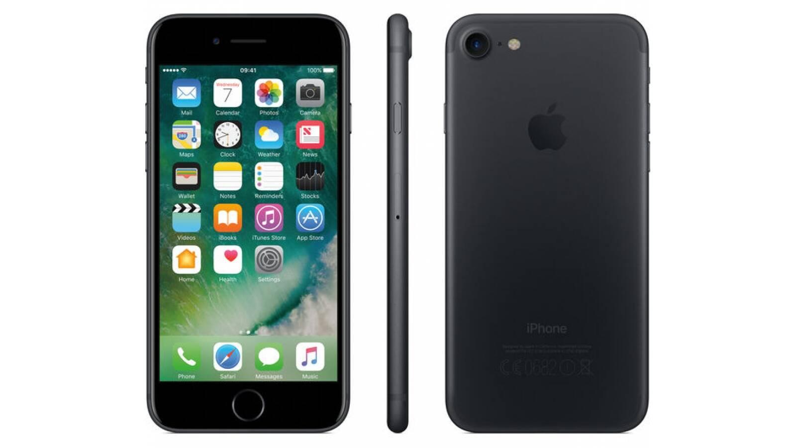 Celular Apple Iphone 7 256GB libre para Antel/Claro/Movistar (Black)