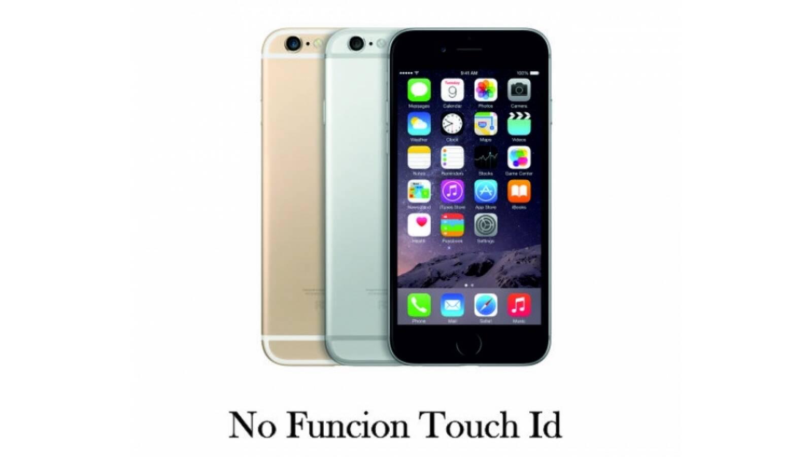 Apple Iphone 6 64gb Libre - No Funciona Touch Id