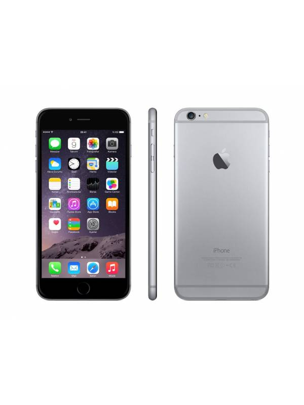 Apple iPhone 6 PLUS 16GB SPACE GRAY libre para AntelClaroMovistar, baston selfie bt regalo