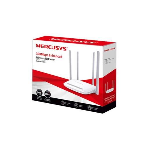 ROUTER WIFI MERCUSYS MW325R 300 MBPS