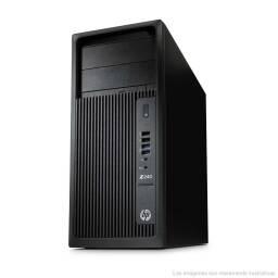 TORRE WORKSTATION HP Z240 + INTEL XEON + 16 RAM + 256GB SSD + WINDOWS 10