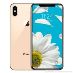 iPHONE XS MAX 256GB + SIN HUELLA + VIDRIO TEMPLADO + CARGADOR INALÁMBRICO + LIBRE