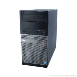 COMPUTADORA TOWER DELL OPTIPLEX 9020 + CORE i7 + 8GB RAM + 500GB HDD + WINDOWS 10 PRO
