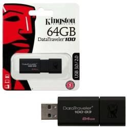 PENDRIVE KINGSTON 64GB