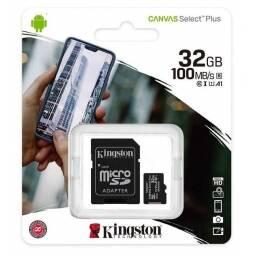 MEMORIA MICRO SD 32GB KINGSTON + ADAPTADOR