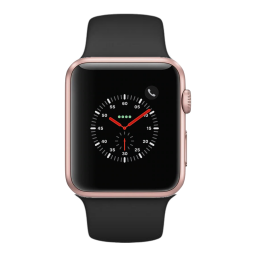 APPLE WATCH SPORT 38MM 3RA GEN ALUMINUM CASE ROSE GOLD