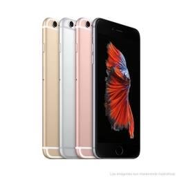 iPHONE 6S PLUS 16GB + VIDRIO TEMPLADO + LIBRE