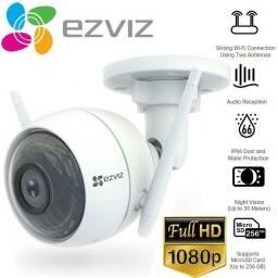 CÁMARA  Wi-Fi EZVIZ PARA EXTERIORES  C3WN 1080p CON VISION NOCTURNA