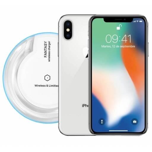 Apple Iphone X 256GB Fantasma + Vidrio Templado + Cargador Inalámbrico