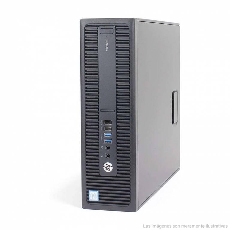 TORRE SFF HP PRODESK 600 G2 + CORE i5 + 8 RAM + 500GB HDD + WINDOWS 10