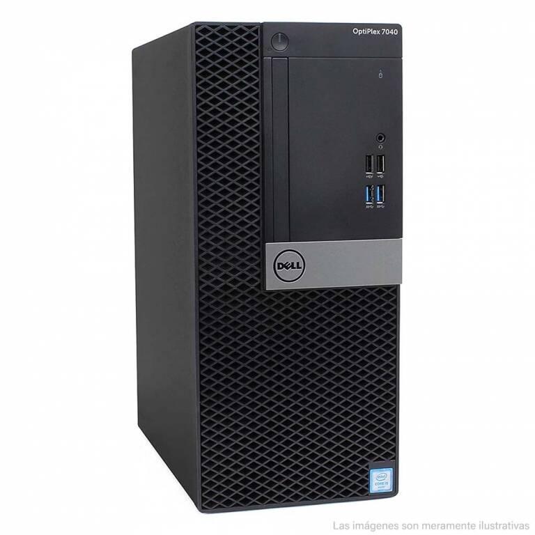 TORRE SFF DELL OPTIPLEX 7040 + CORE i5 + 8 RAM + 320GB HDD + WINDOWS 10