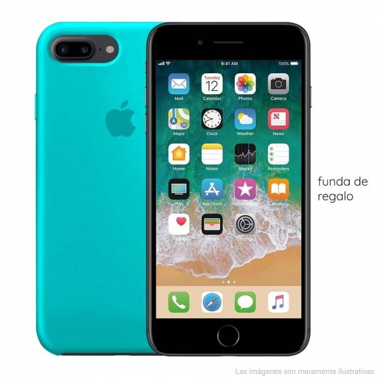 iPHONE 7 PLUS 32GB + VIDRIO TEMPLADO + LIBRE