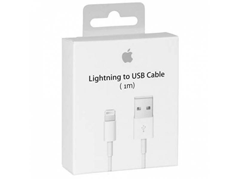 CABLE IPHONE ORIGINAL NUEVO EN CAJA SELLADA 1 METRO LIGHTING