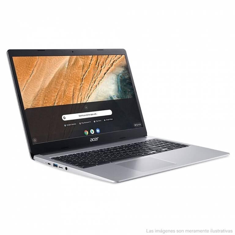 ACER CHROMEBOOK CELERON + 4GB RAM + 32GB DE ALMACENAMIENTO + CHROMEOS